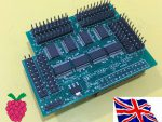 I2C 23017 x8 - 128 GPIO Board for Raspberry Pi A/B/B+/2B/3B/3B+