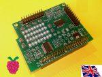 Raspberry Pi - I2C 23017 x2 - 32 GPIO Board