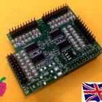 Raspberry Pi - I2C 23017 x4 - 64 GPIO Board